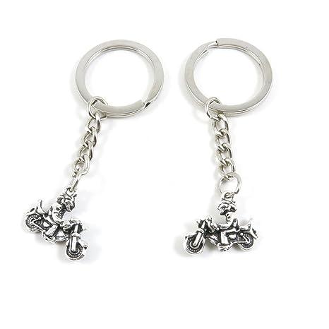 Amazon.com: Etiqueta de llaves anillo cadena llavero llavero ...