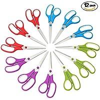 CCR Scissors 8 inch Soft Comfort-Grip Handles Sharp...