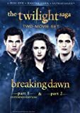 The Twilight Saga: Breaking Dawn, Parts 1 & 2 (2-Disc DVD + Digital Copy + UltraViolet)