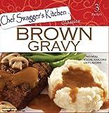 Brown Gravy Mix (3 pouches/carton, 2.61 oz. per carton, Pack of 6, 18 total pouches)