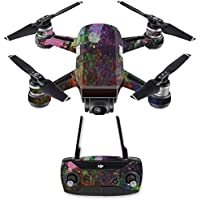 Skin for DJI Spark Mini Drone Combo - Paint Drip| MightySkins Protective, Durable, and Unique Vinyl Decal wrap cover | Easy To Apply, Remove, and Change Styles | Made in the USA