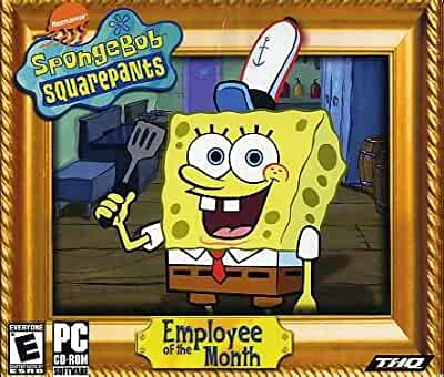 SpongeBob SquarePants Employee of the Month - PC Video Games