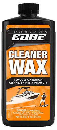 Boater's EDGE Cleaner Wax - Removes Oxidation, Cleans, Shines & Protects in One Easy Step