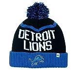 NFL Detroit Lions Linesman Cuff Knit Cap with Pom