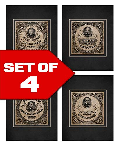 Wallables Beer Stamp Art Prints in Vintage Black & White! Four Stylish 8x10 Mens Wall Decor Art Prints Set Great for Living Room, Bar, Tavern, Pub, Bachelor - Stamp Wall Decor