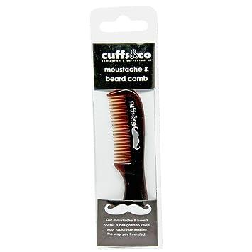 b0b7ed4f6cc Amazon.com : Beard & Mustache Grooming Comb   Cuffs & Co : Beauty