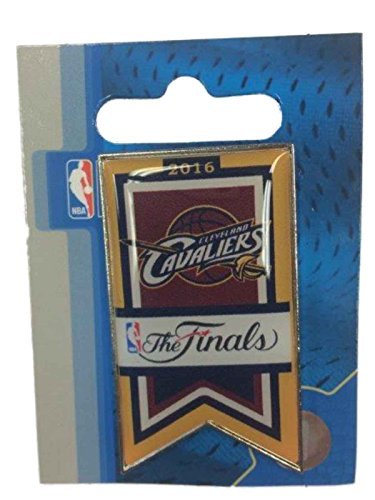 (aminco Cleveland Cavaliers 2016 NBA Finals Team Banner Collectible Lapel Pin)