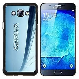 TECHCASE---Cubierta de la caja de protección para la piel dura ** Samsung Galaxy A8 ( A8000 ) ** --Puente de los Sueños de Libertad Blue Mist