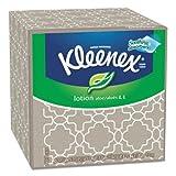 Kleenex Lotion Facial Tissue - 3 Ply - 75 Sheets Per Box - 1 / Box - White