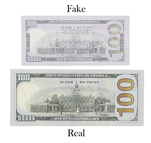Toy Money 100 : Paper playing money one hundred dollar bills