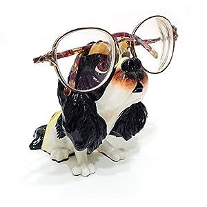 Cavalier King Charles Spaniel Dog Breed Novelty Eyeglass Holder Stand 2