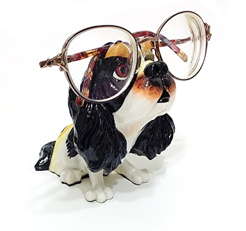 Cavalier King Charles Spaniel Dog Breed Novelty Eyeglass Holder Stand (Cavalier Charles Spaniel King Breed)