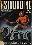 ASTOUNDING Science Fiction: December, Dec. 1939 (