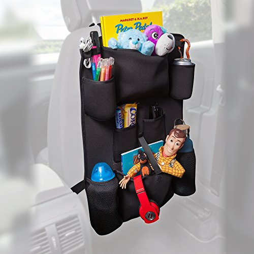 High-End Luxury Car Back Seat Organizer With Tablet Pocket For Android & iOS Tablets | Insul ...