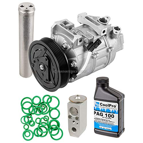 AC Compressor w/A/C Repair Kit For Nissan Altima 2007 2008 2009 2010 2011 2012 - BuyAutoParts 60-81776RK NEW