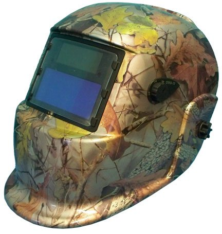 Solar Auto Darkening Welding Weld Helmet - Woodland