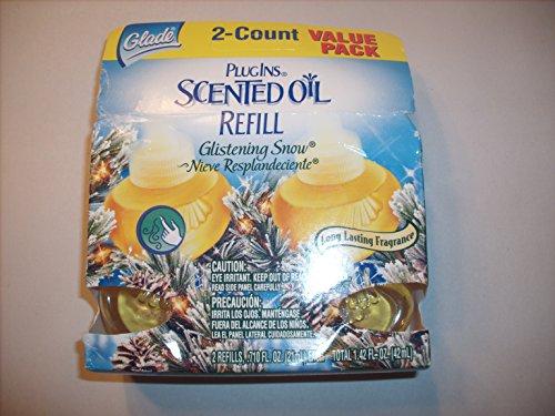 PlugIns Scented Oil - Glistening Snow - Value Pack 2