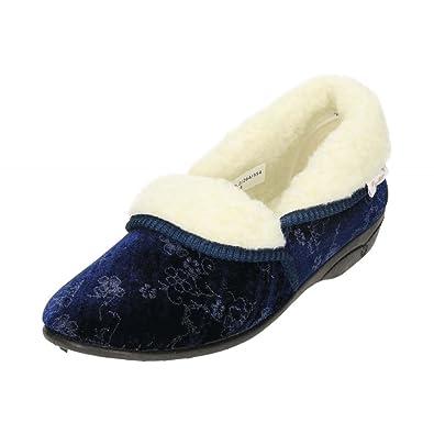 2ec0d3b9a31 Dr Keller Women s Glenda Slippers Warm Lined  Amazon.co.uk  Shoes   Bags