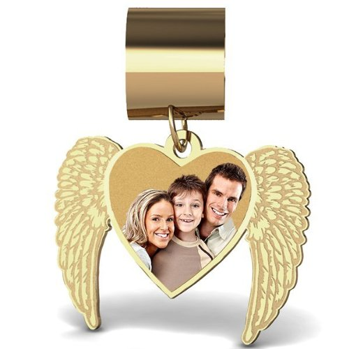 Angel Heart Photo Charm For Br