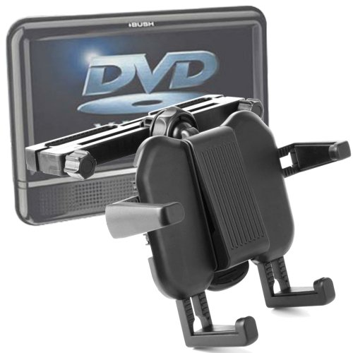 DURAGADGET Expandable Headrest Mount For Archos 70 Cobalt/97, 101 Cobalt/7F G3/101 XS Gen 10/XS 80 8 Gb/Platinum 97/80/GamePad 70/FamilyPad 2/ChildPad/Chefpad/10c G3 (10c Dvd)