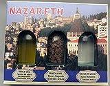 Holy Land souvenir 3 bottle set Nazareth Holy - Best Reviews Guide