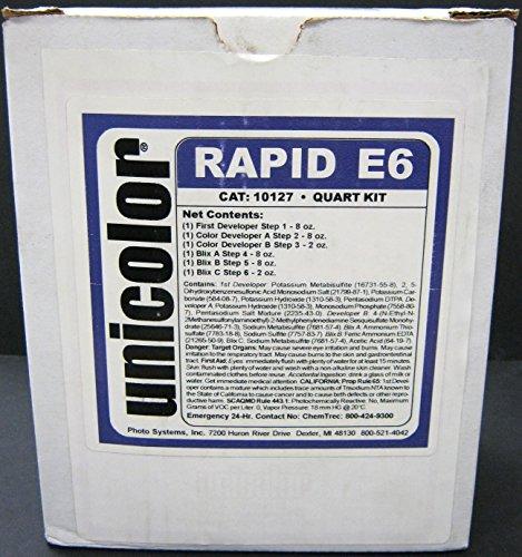 Ultrafine Unicolor E-6 Film Rapid Developing Kit 1 Quart