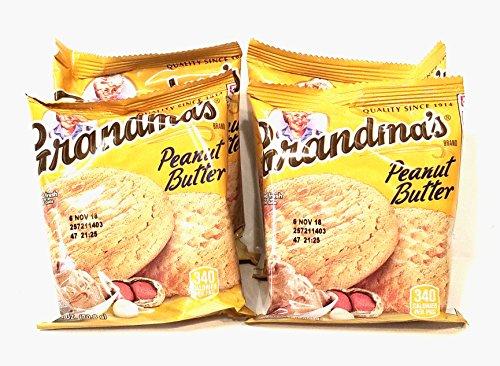 Grandma's Cookies Peanut Butter Flavored 8 Pack