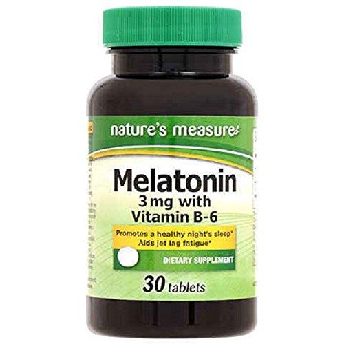 Natures Measure Melatonin Tablets, 30 Count