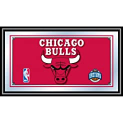 NBA Chicago Bulls Framed Logo Mirror
