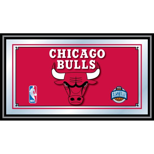- NBA Chicago Bulls Framed Logo Mirror