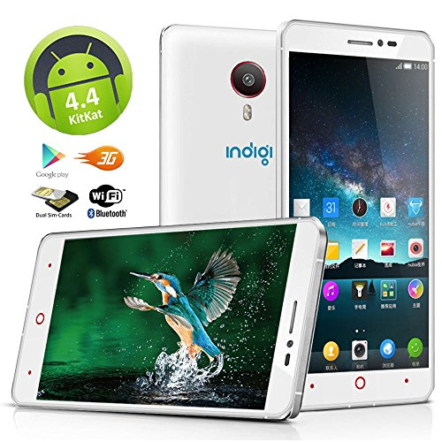 "Indigi® 5.5"" Android 4.4 KitKat DualCore 3G GSM+WCDMA GPS S"