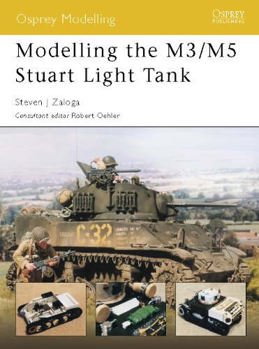 Modelling the M3/M5 Stuart Light Tank (Osprey Modelling, used for sale  Delivered anywhere in USA