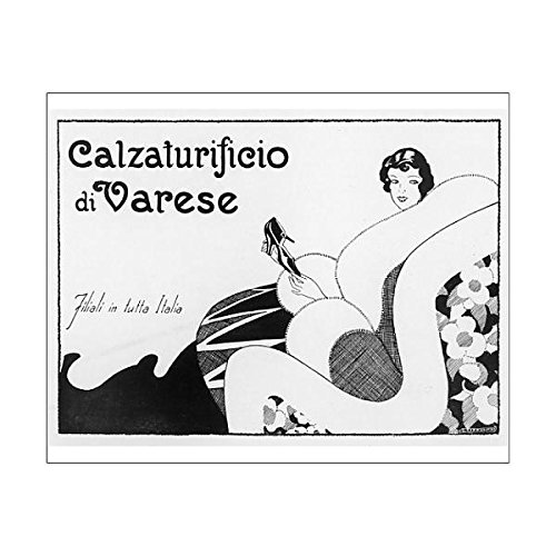 Media Storehouse 20X16 Print Of Varese Shoes 1928 (600238) c3ynfkT0