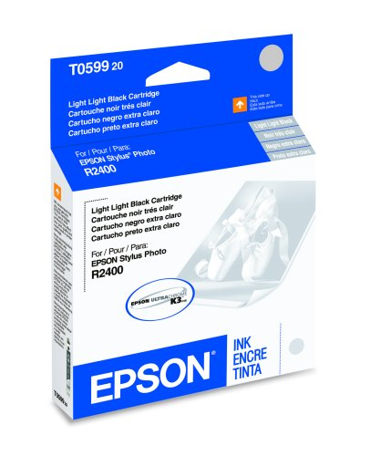 EPSON T059920 Light Light Black Ink Cartridge - Stylus Photo ()