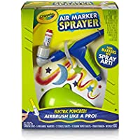 Crayola 18 Piece Air Marker Sprayer Set