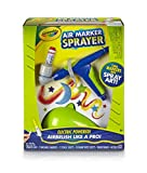 Crayola Air Marker Sprayer Set Airbrush Kit For Kids Art Gift for Kids 8 & Up, Turns Your Classic Crayola Markers Into Beautiful Spray Art, Motorized Sprayer for Consistent & Smooth Results Every Time