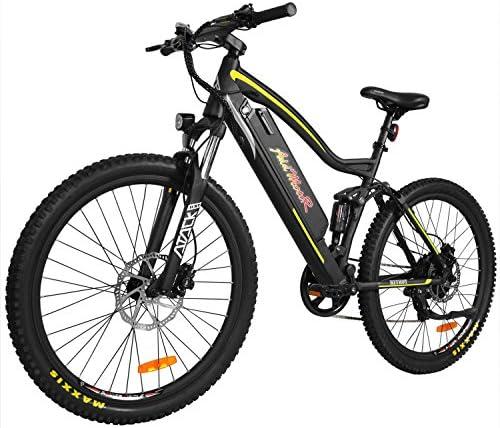 Addmotor HITHOT Bicicleta eléctrica de montaña de Alta Velocidad ...
