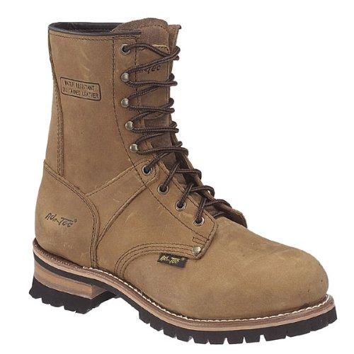 AdTec Men's 9 Inch Logger-M Boot, Brown 9.5 M US