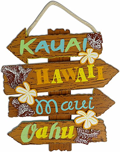 Hawaiian Islands Sign 11.375