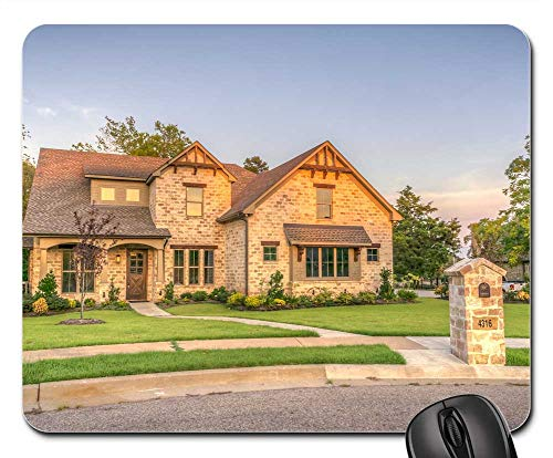 Mouse Pads - Exterior Home House Luxury 1
