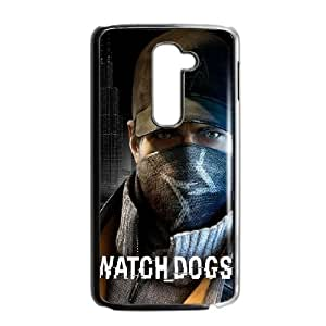 LG G2 Cell Phone Case Black Watch Dogs SUX_022954