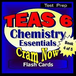 Amazon com: TEAS 6 Prep Test CHEMISTRY ESSENTIALS Flash