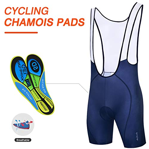 d433281d8386d Ftiier Men's Cycling Bib Shorts with 5D Padded Bike Bicycle ...