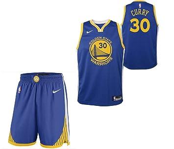 3fce320cb4714 Adidas Ensemble (Haut et Bas) Junior - Stephen Curry Golden State Warriors  (Youth