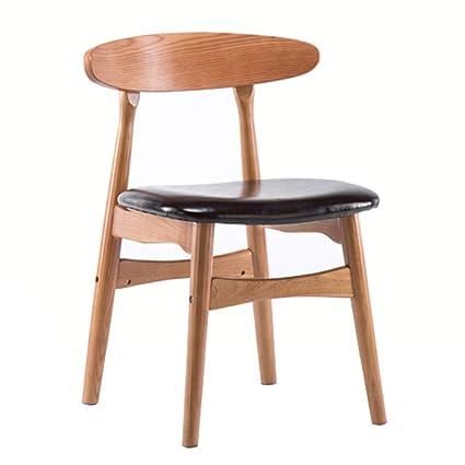 BZEI-Chair Sedie da Cucina Retro Sedia Schienale Basso ...