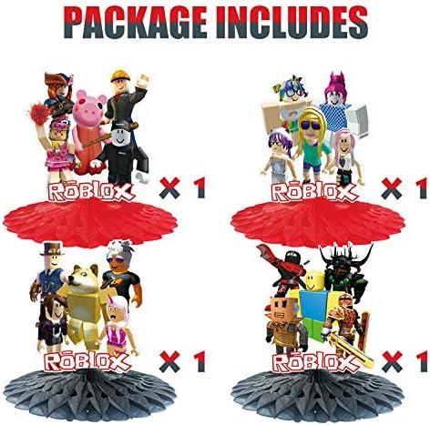 Party Favor for Roblox Party Supplies Centerpieces Tables Party Supplies Desk Decorations