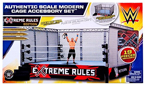WWE Steel Cage Match Accessory Set (Current Cage) by WWE