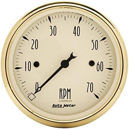 AUTO METER 1595 Golden Oldies Electric Tachometer,3.125 in.