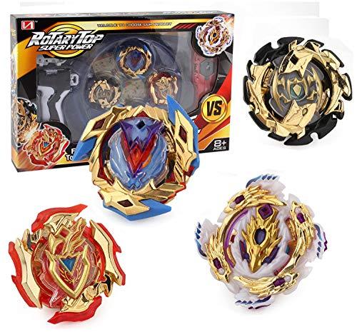 Bey Battle Gyro Burst Battle Evolution Attack Pack for Battling Top Game Included 4X Golden Burst Gyro (Best Beyblade Attack Beyblades)