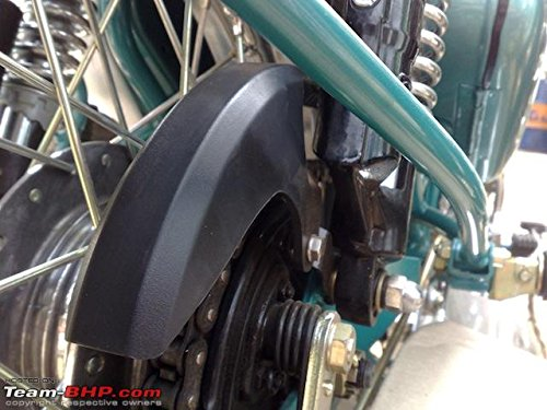Royal Enfield 350cc 500cc Chrome Chain Guard